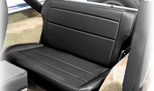 Rugged Ridge Fold Amp Tumble Rear Seat Jeep Wrangler Yj
