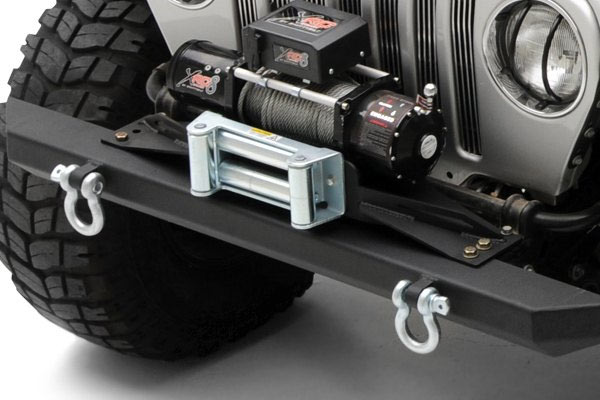 Jeep Wrangler Aftermarket Parts >> Smittybilt Raised Winch Plates for 97-06 Jeep TJ ...