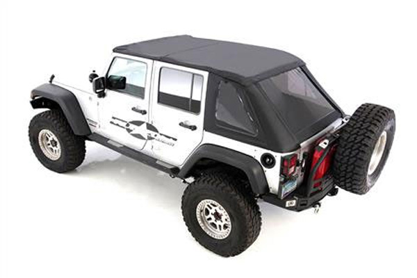 Smittybilt bowless combo top 07 17 wrangler jk 4 door for 07 4 door jeep wrangler for sale