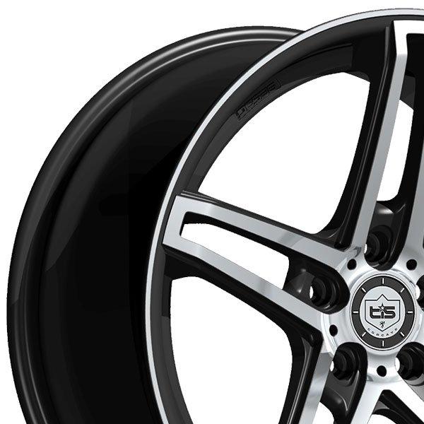 Tis Online : tis 536mb gloss black w mirror machined face wheels ~ A.2002-acura-tl-radio.info Haus und Dekorationen