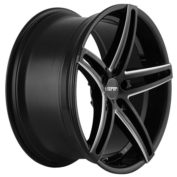 One 18x8 Touren 3273 TR73 5x114.3 35 Black Milled Wheel Rim