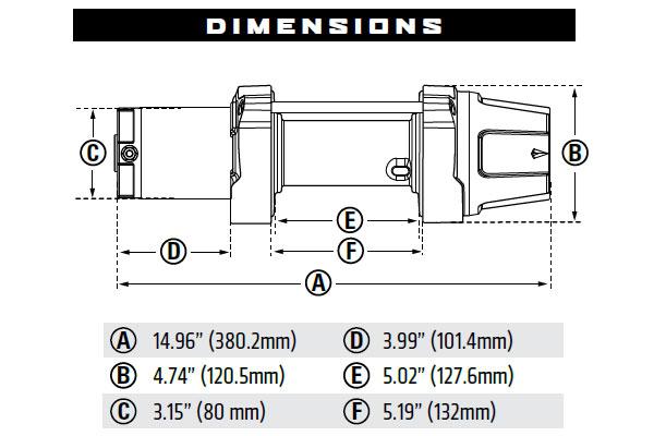 quadboss winch wiring diagram warn vrx    45   45 s powersports winches 4wheelonline com  warn vrx    45   45 s powersports