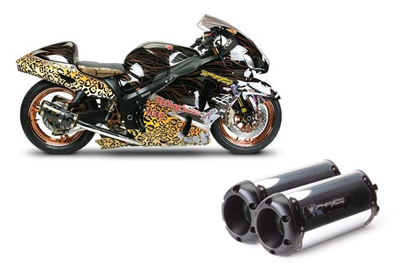M-2 Black Series V A L E  Dual Shorty Slip-Ons-Aluminum Canister