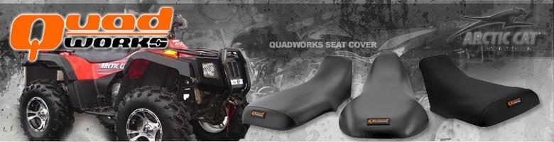 Gripper Seat Cover Atv