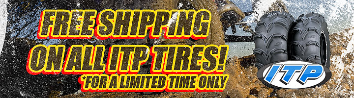 Get the ultimate off-road experience from ITP Tires - Now on sale for limited time only!