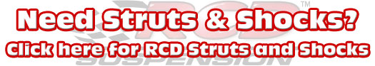 RCD Struts and Shocks