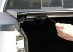 Access Original Roll-Up Tonneau Covers for Mitsubishi / Isuzu: AutoLatch™ Latching System