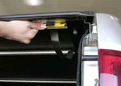 Access Original Roll-Up Tonneau Covers for Mitsubishi / Isuzu: Slide Lock