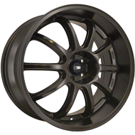 HD Wheels Clutch 20x8.5 5x114.3 OS:20 BS:5.6 CB:73.1 HD Wheels Clutch in Satin Bronze Powder Coat