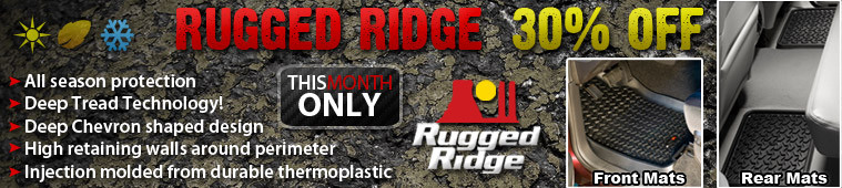 Rugged Ridge Sale, Free Shipping!