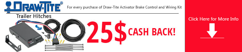 Draw-Tite Activator Brake Control and Wiring Kit Promo Banner