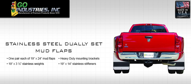 Go Industries Stainless Steel Dually Set
