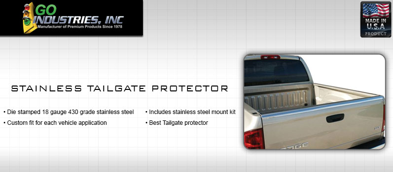 Go Industries Stainless Tailgate Protector
