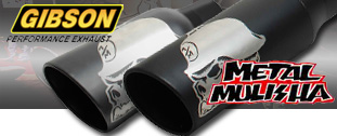 Metal Mulisha Exhaust Tips