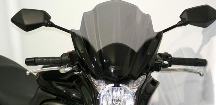 Touring Bike Windshields are available