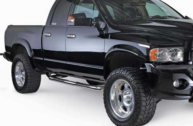 Nerf Bars add style and safety to any any truck