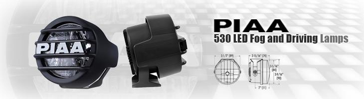 piaa lp 530 led fog driving 4wheelonline com rh 4wheelonline com Off-Road Wiring Harness Rigid Industries Wiring Harness