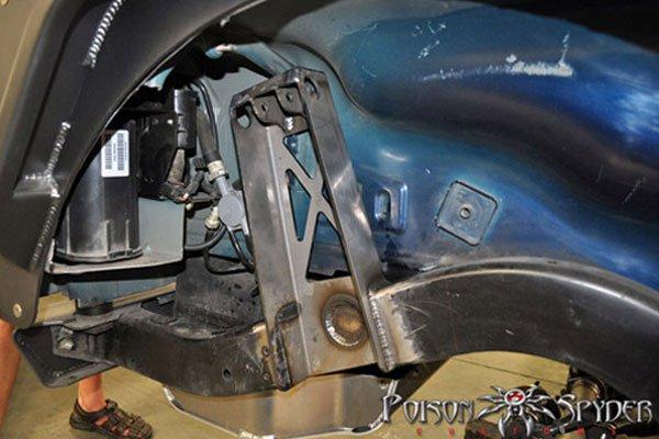 Jeep Wrangler Tj For Sale >> Poison Spyder Upper Coilover Mounts - Rear for 97-06 Jeep