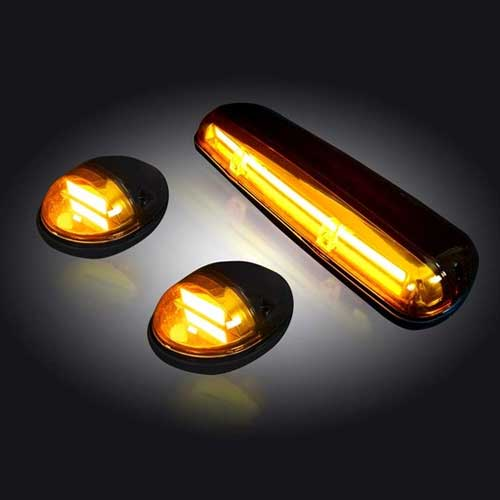 2002 2007 chevy gmc recon amber oled cab lights 4wheelonline publicscrutiny Image collections
