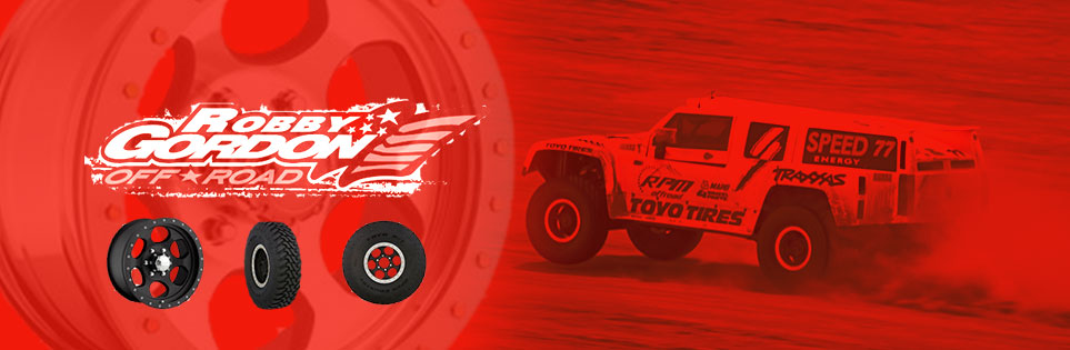Robby Gordon Wheels Banner