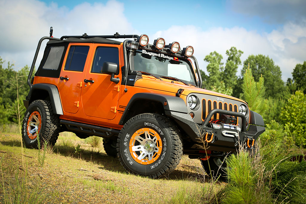 rugged ridge announces 10 new jeep restyling packages for. Black Bedroom Furniture Sets. Home Design Ideas