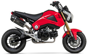 Honda Grom with exhaust kit
