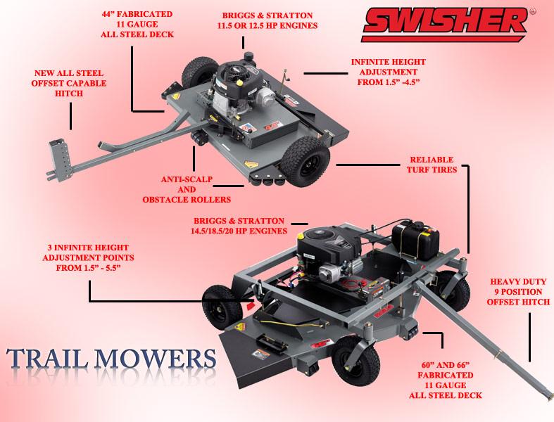 Swisher Trail Mower 4wheelonline Com