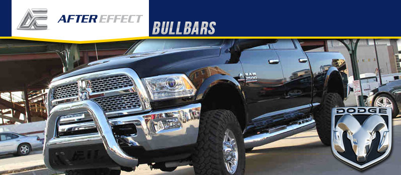After Effect Bullbars Header Dodge on Dodge Ram 3500 Bull Bars