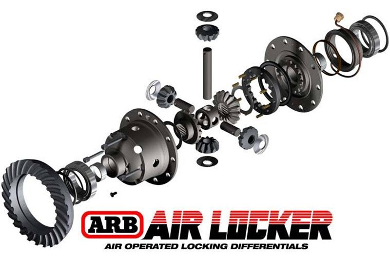 Air Locker Hummer H3 2006-09 / AAM 7.5