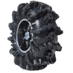 Atv tire close up
