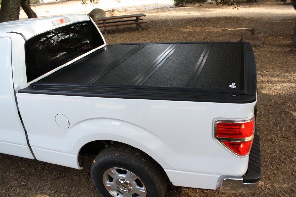 White Truck With A Tonneau