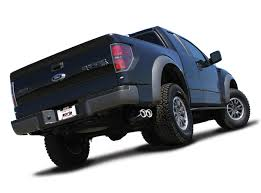 Ford f-150 with exhaust
