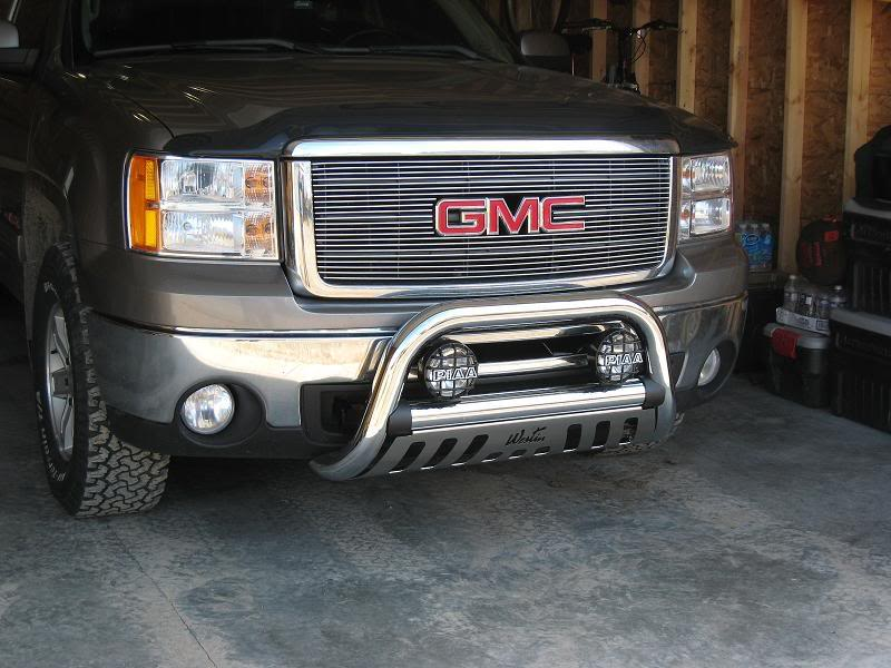 Protecting your vehicle with westin bull bars gmc truck with a westin bull bar aloadofball Image collections