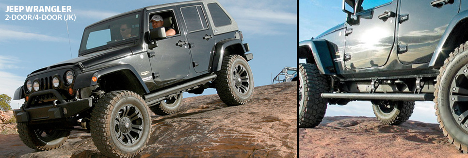 Jeep Power step in motion