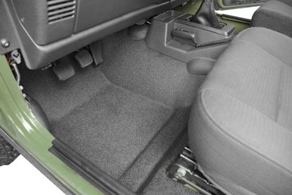 Floor Heat: Jeep Wrangler Floor Heat