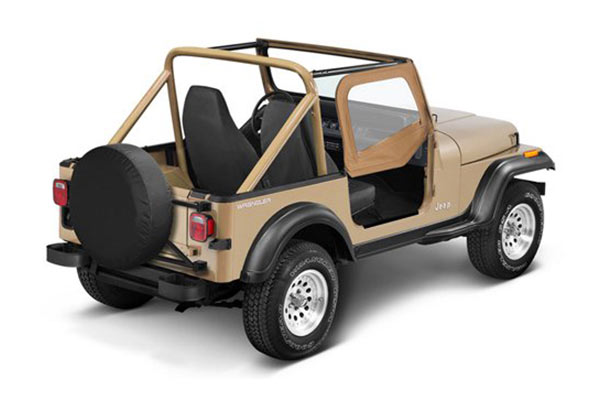 Bestop Jeep Fabric Replacement Door Skins For 1988 1995
