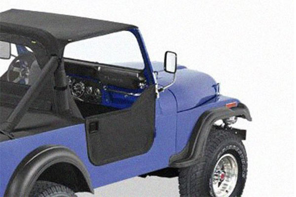 Bestop Jeep Soft Lower Half Doors 1980 1995 Wranger Yj