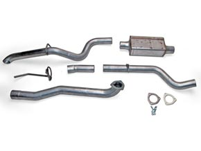 Full-Traction Exhaust System for Jeep TJ Wrangler