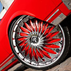Dub Wheels Fanatic Custom Painted Chevy Caprice
