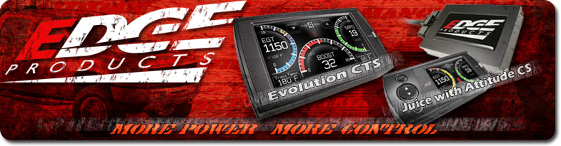 Edge Performance Products new Evolution color touch screen and juice with attitude color touch screen
