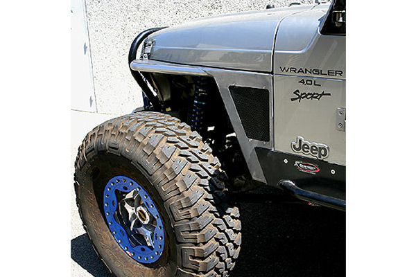 Jeep Extended Warranty >> GenRight G3 Front Tube Fenders w/o Flare 97-06 Wrangler TJ/LJ | 4WheelOnline.com
