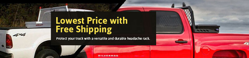 Get the best deals on our Headache Racks with Free Shipping