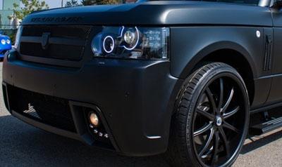 Oracle Headlight Led Halo Kit Land Rover 4wheelonline Com