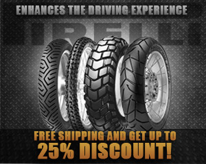 Pirelli Tires AD 25% off!