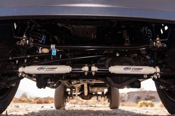 pro street trucks  pro comp dual es2000 steering stabilizers 4wheelonline com