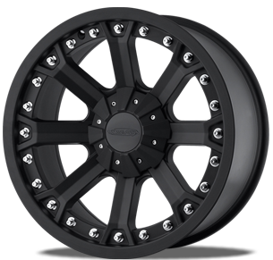 Comp Wheels on Model  Series 7033 Finish  Flat Black Available Sizes  20x9  17x9