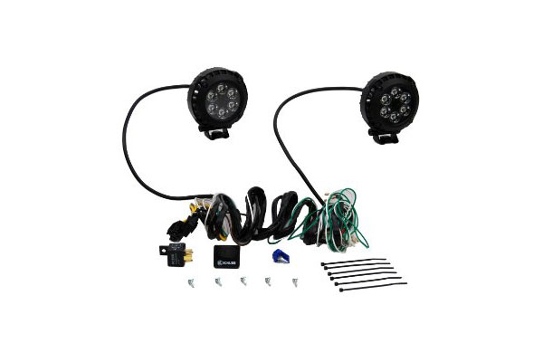 kc lzr series 4 u0026quot  round driving led lights