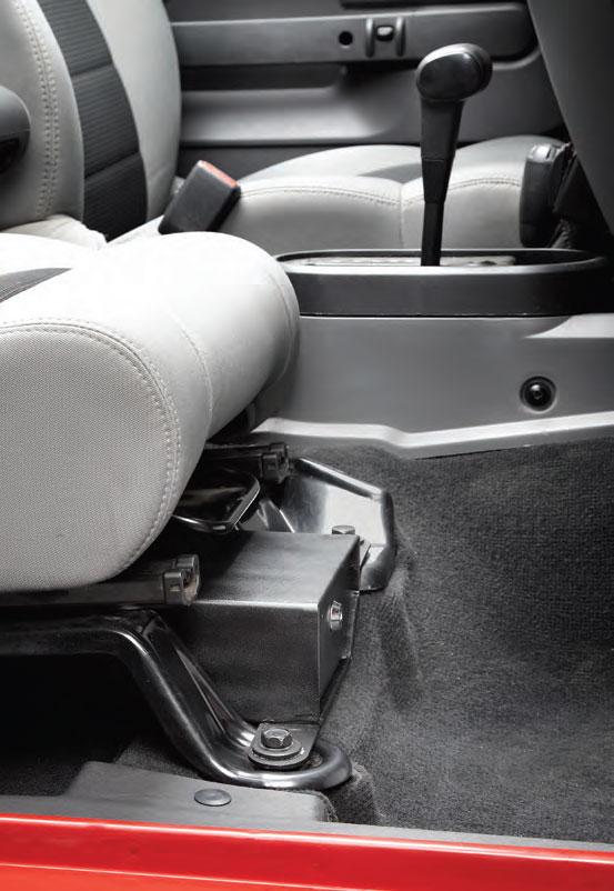 Bestop Jeep Under Seat Locking Storage Box 4wheelonline Com