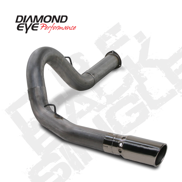 Particulate Exhaust Hood ~ Diamond eye quot stainless steel dpf back exhaust kits chevy