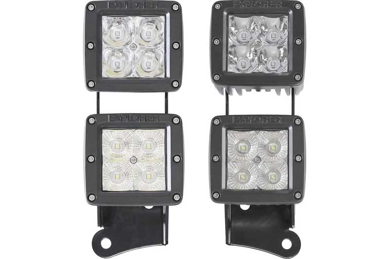 Pro comp roundsquare led lights low prices 4wheelonline prevnext publicscrutiny Image collections